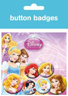 DISNEY PRINCESS Badge Pack