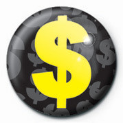 DOLLAR SIGN Badge
