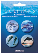 DOLPHINS Badge Pack