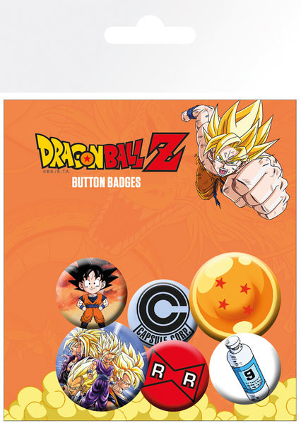 Dragon Ball Z - Mix Badge Pack