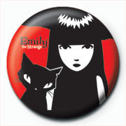 Emily The Strange - Emily and Sabbath Badge