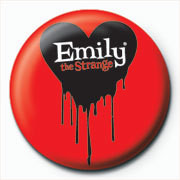 Emily The Strange - logo Badge