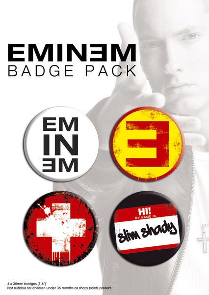 EMINEM Badge Pack