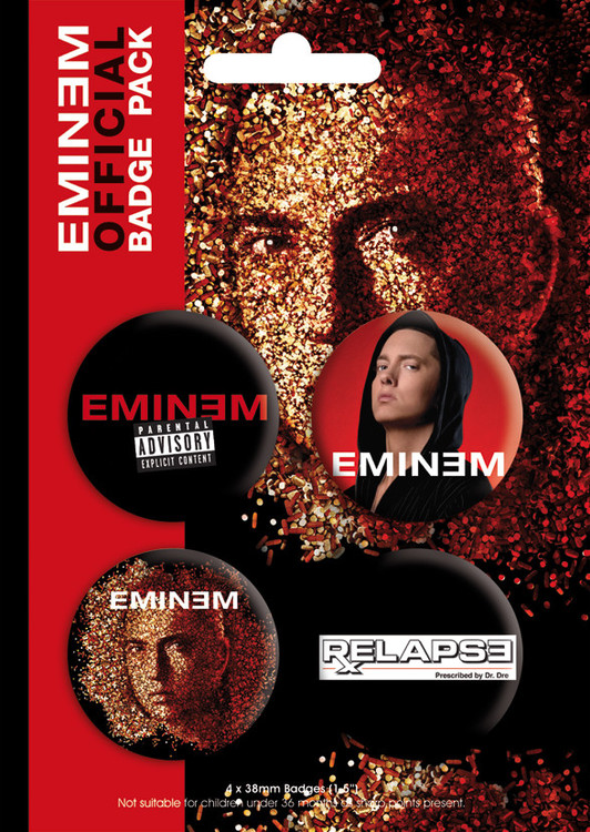 EMINEM - relapse Badge Pack