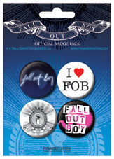 FALL OUT BOY Badge Pack