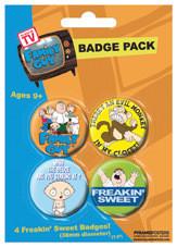 FAMILY GUY Badges