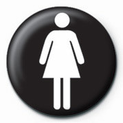 FEMALE SIGN Badge