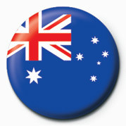 Flag - Australia Badges