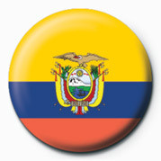 Flag - Ecuador Badges