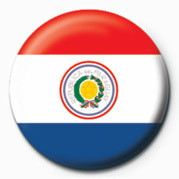 Flag - Paraguay Badges
