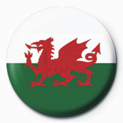 FLAG - WALES Badge