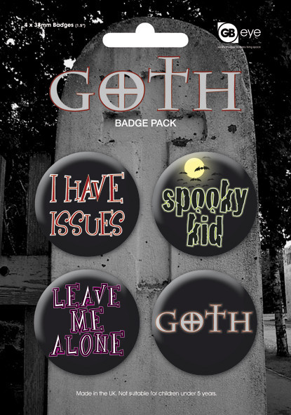 GOTH Badge Pack
