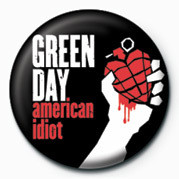 Green Day - American Idiot Badges