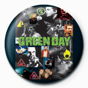 GREEN DAY - COLLAGE Badge