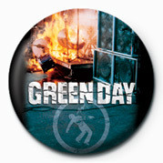GREEN DAY - FIRE Badge