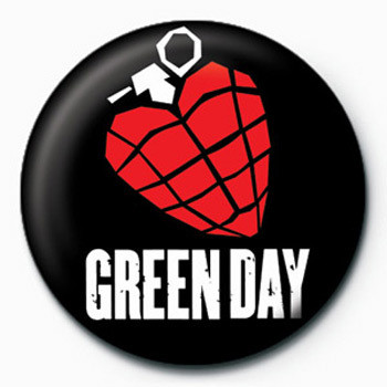 Green Day (Grenade) Badge