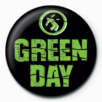 Green Day (Logo) Badge