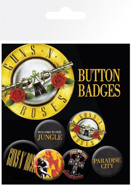 GUNS N ROSES Badge Pack