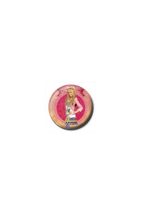 HANNAH MONTANA - circle Badge