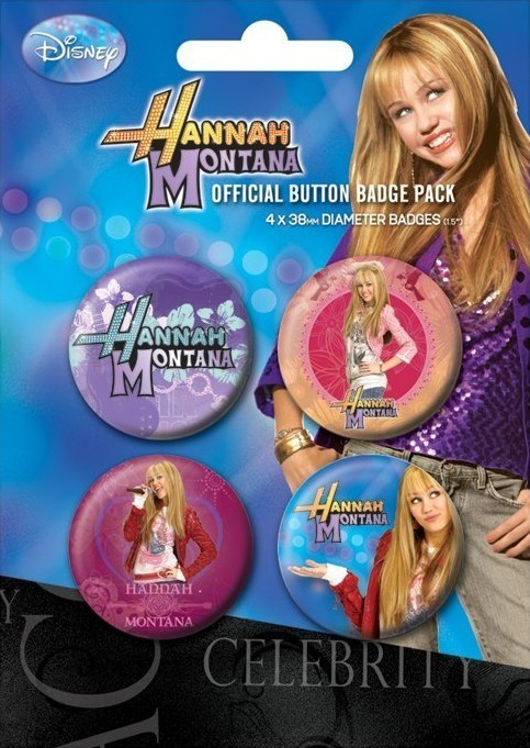 HANNAH MONTANA Badge Pack
