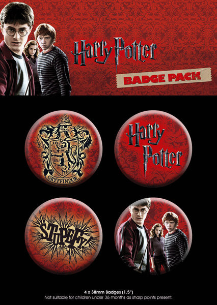 Badges HARRY POTTER 7