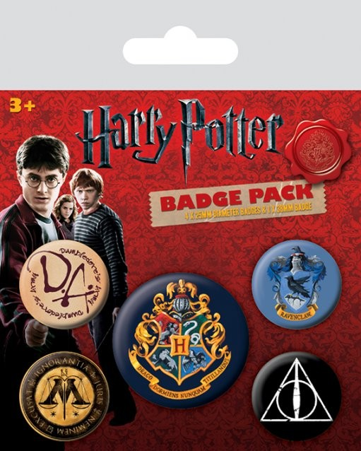 Harry Potter - Hogwarts Badge Pack
