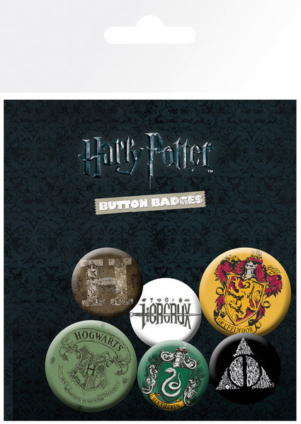 Harry Potter - Mix Badge Pack