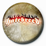 HATEBREED - logo Badge