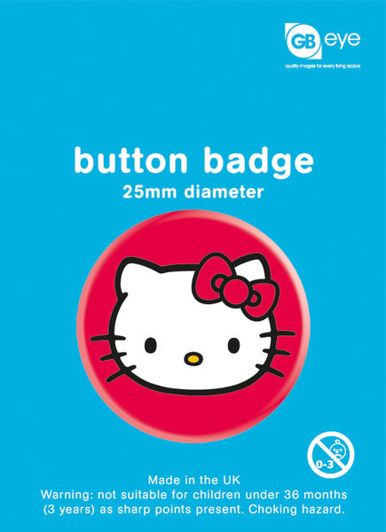 Hello Kitty - Sat Badge