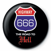 HIGHWAY 666 - THE ROAD TO Badges