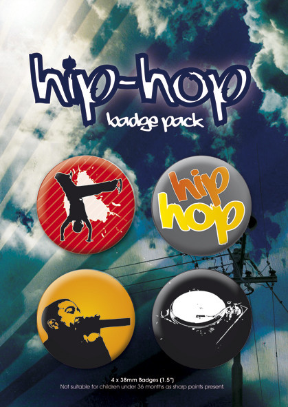 Badges HIP HOP
