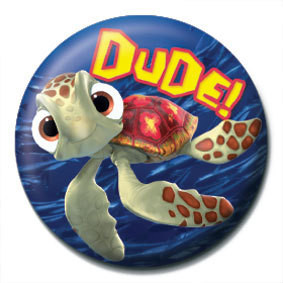 HLEDÁ SE NEMO - Dude Badges