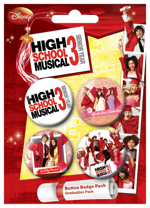 HSM3 - Graduation Badges