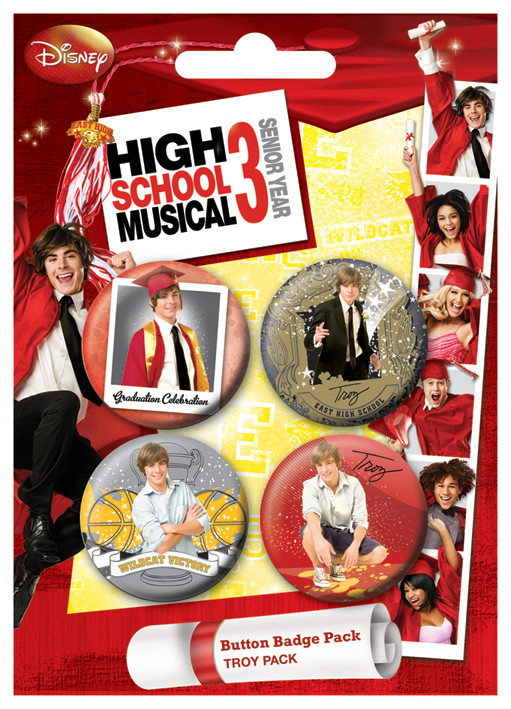 HSM3 - Troy Badge Pack