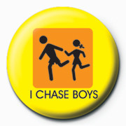 I CHASE BOYS Badge