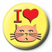 I LOVE PUSSY Badges