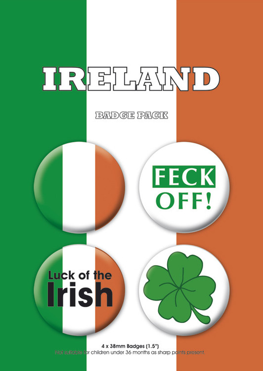 IRELAND Badge Pack