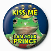 KISS ME, I AM YOUR PRINCE Badges