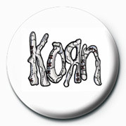 KORN - ASYLUM L OGO Badge