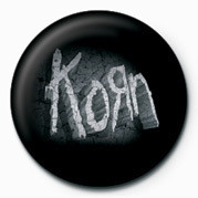 KORN - STONE LOGO Badge