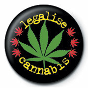 LEGALISE CANNABIS Badge