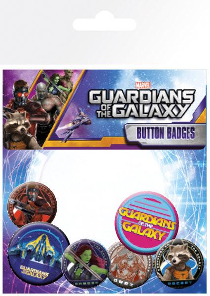 Badges Les Gardiens de la Galaxie - Characters