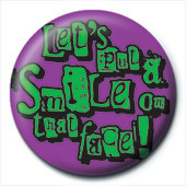Lets put and smile Badges