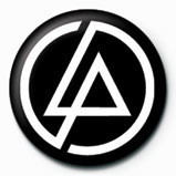 LINKIN PARK - circle logo Badge