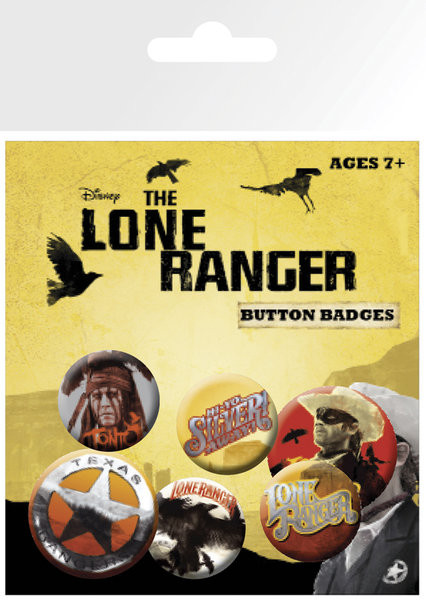 LONE RANGER Badge Pack