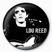 LOU REED Badge