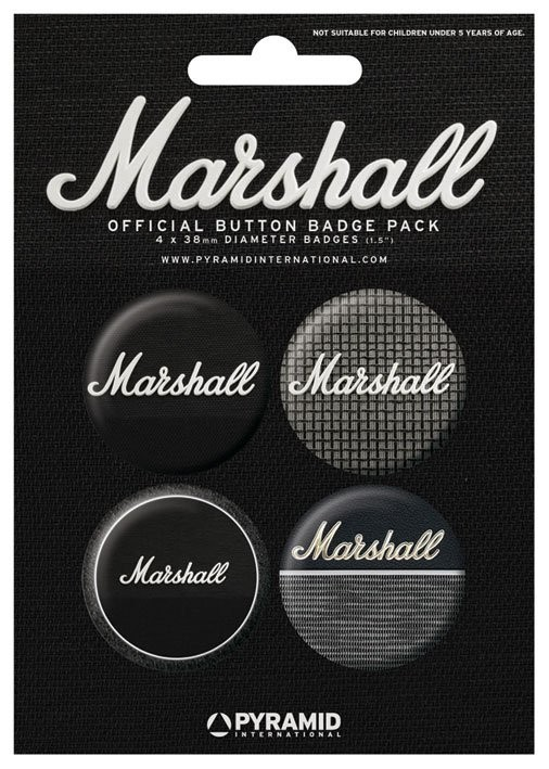 MARSHALL - amps Badge Pack
