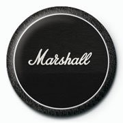 MARSHALL - black amp Badges