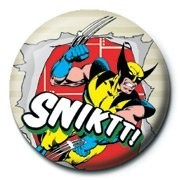 MARVEL - wolverine snikt! Badge