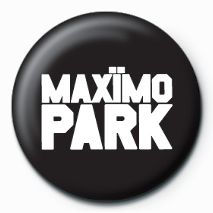 Maximo Park-Logo Badge